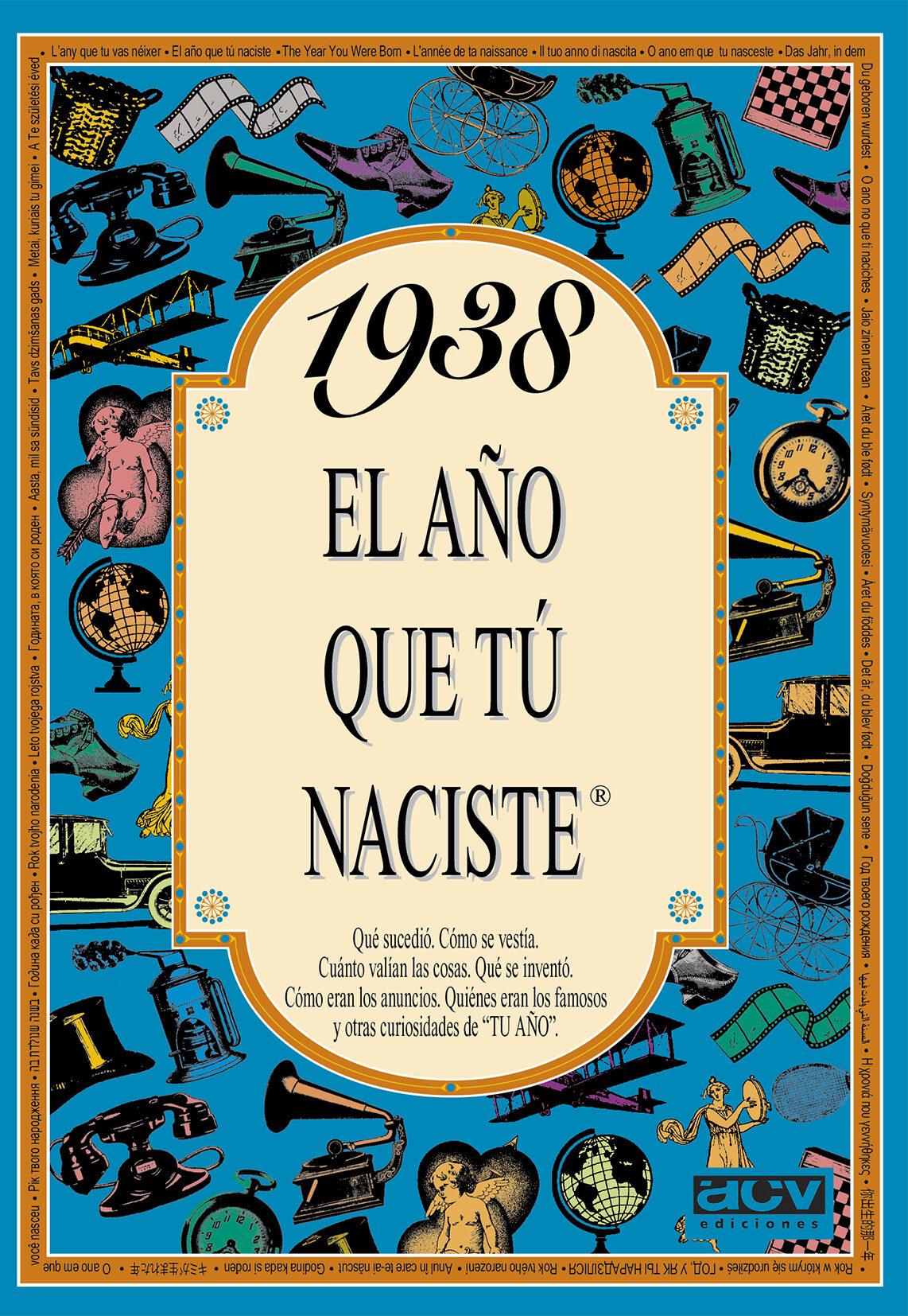 1938 el año que tu naciste-rosa collado bascompte-9788488907752