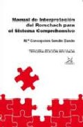 manual de interpretacion del rorschach-concepcion sendin bande-9788488909152