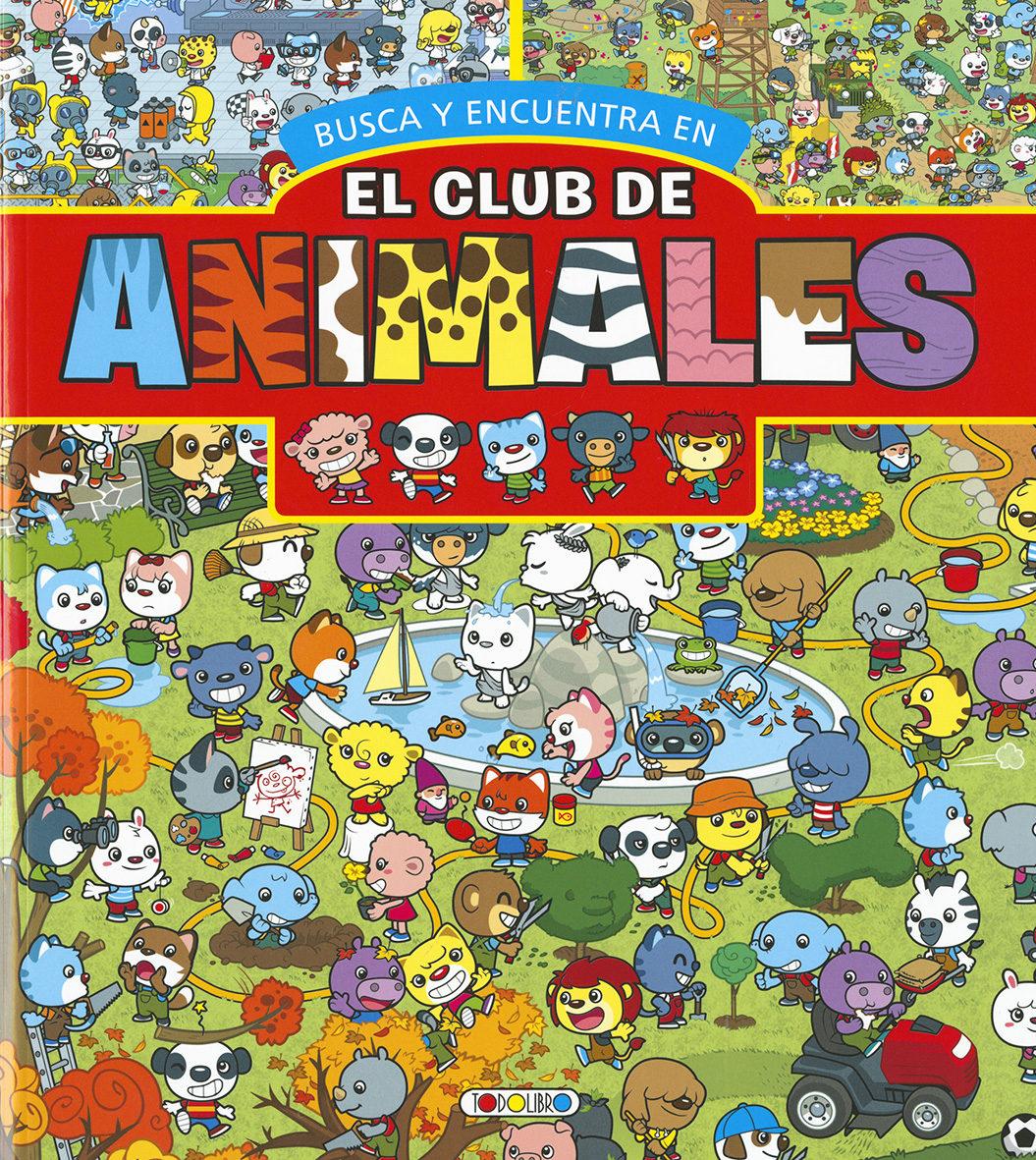 el club de los animales (rojo): busca y encuentra-9788490376652