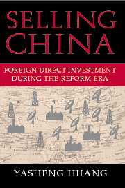 Selling China: Foreign Direct Investment During The Reform Era por Yasheng Huang epub