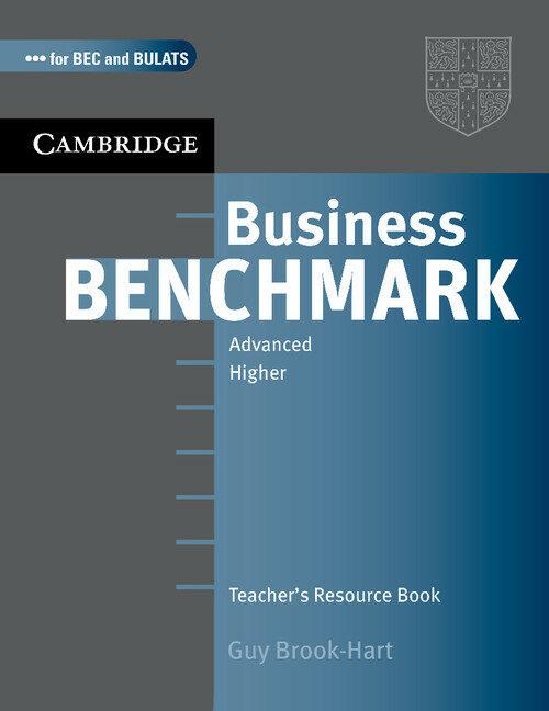 Business Benchmark Advanced: Teacher S Resource Book por Guy Brook Hart
