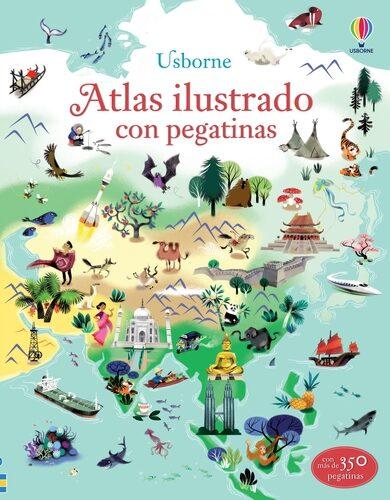 Atlas Ilustrado Con Pegatinas por Vv.aa.