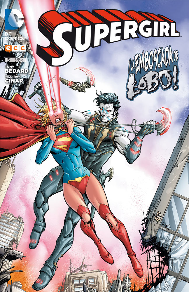 supergirl núm. 05-tony bedard-9788416475162
