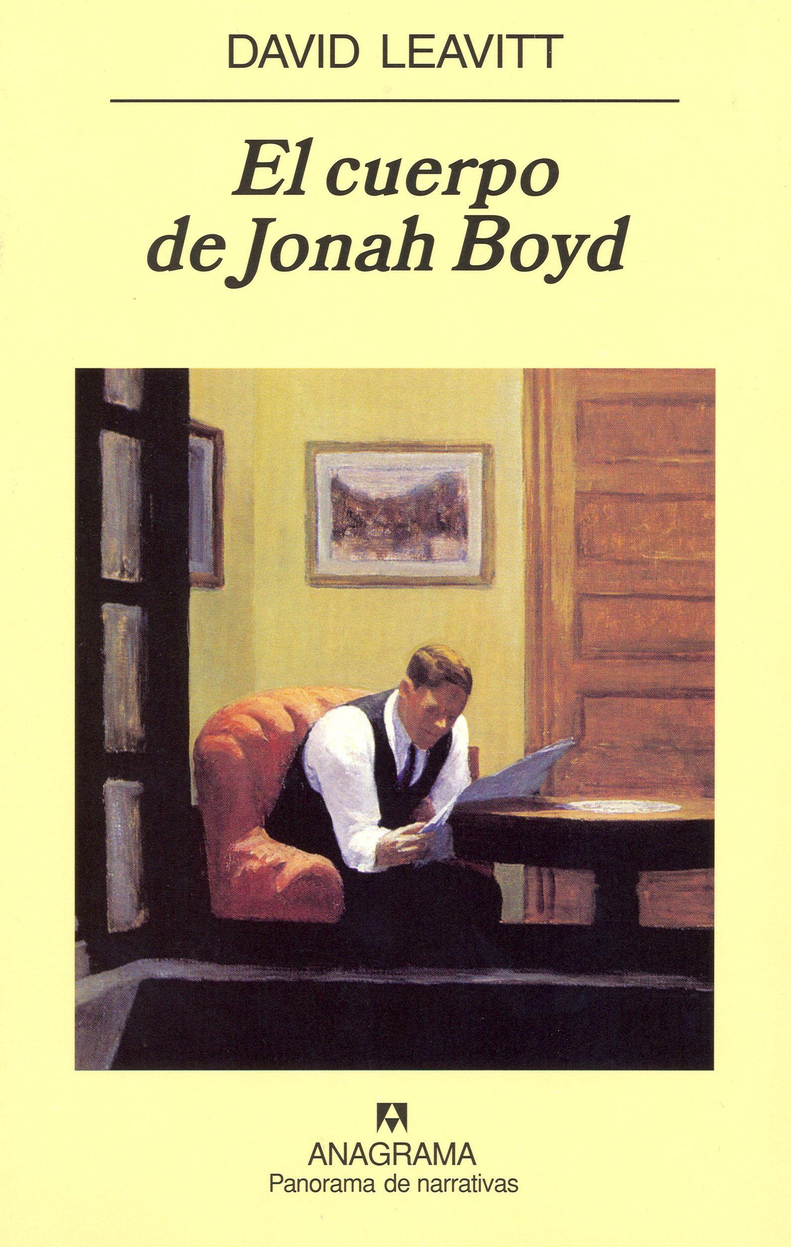 El Cuerpo De Johah Boyd por David Leavitt