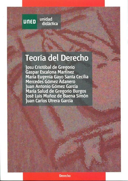Teoria Del Derecho por Josu Cristobal De Gregorio epub