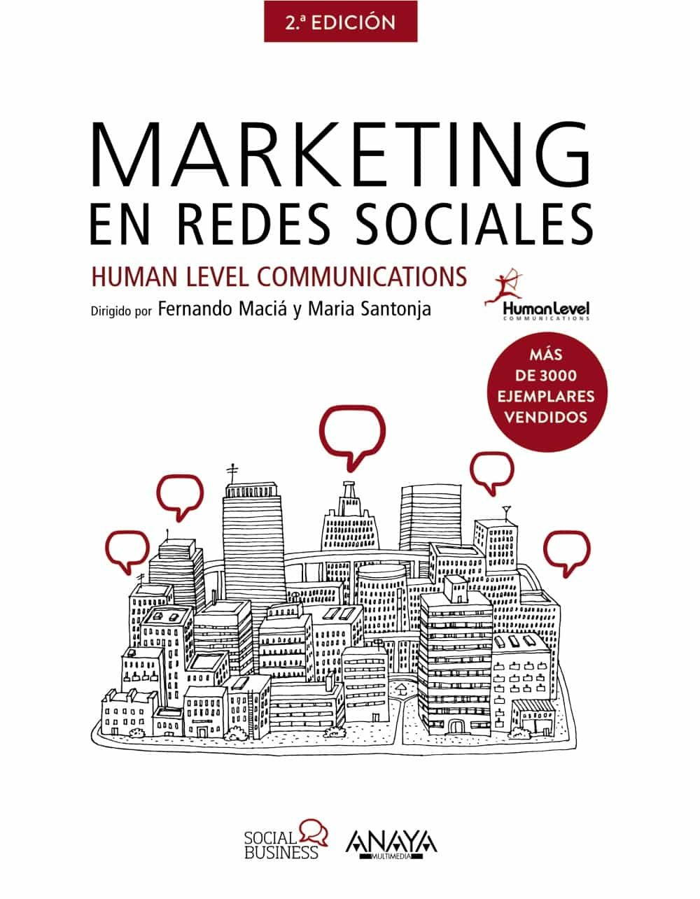 Resultado de imagen para Marketing en redes sociales libro fernando maría