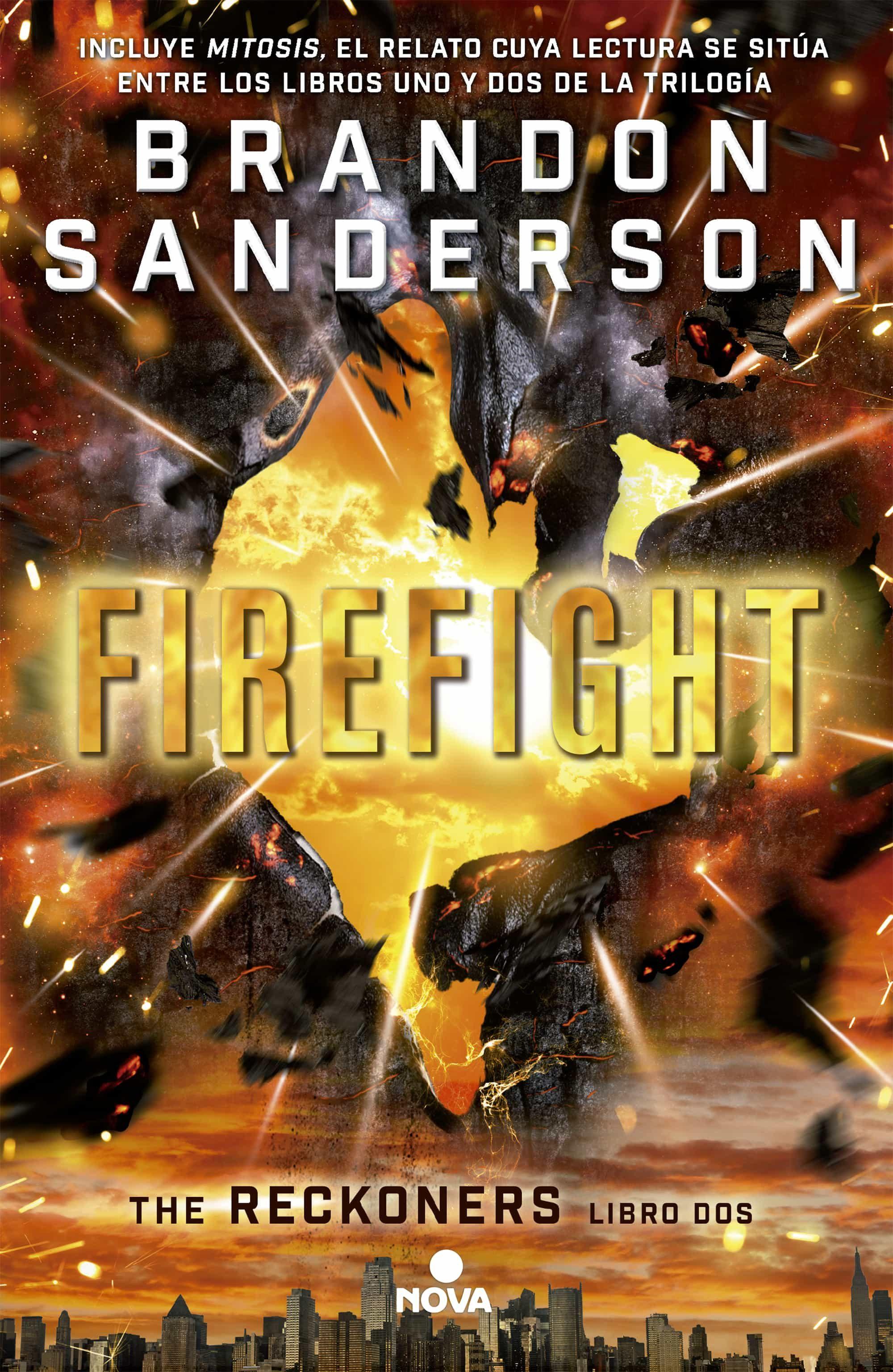 Resultado de imagen de firefight brandon sanderson
