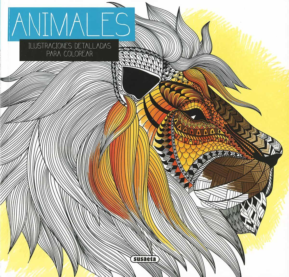 ANIMALES. ILUSTRACIONES DETALLADAS PARA COLOREAR | VV.AA. | Comprar ...