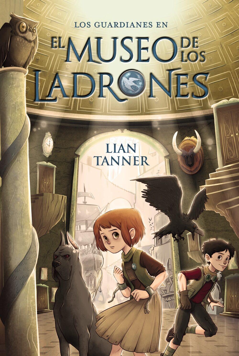 Resultado de imagen de El museo de los ladrones (Los guardianes I), Lian Tanner