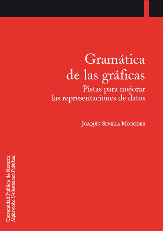 Gramatica De Las Graficas: Pistas Para Mejorar Las Representacion Es De Datos por Joaquin Sevilla Moroder