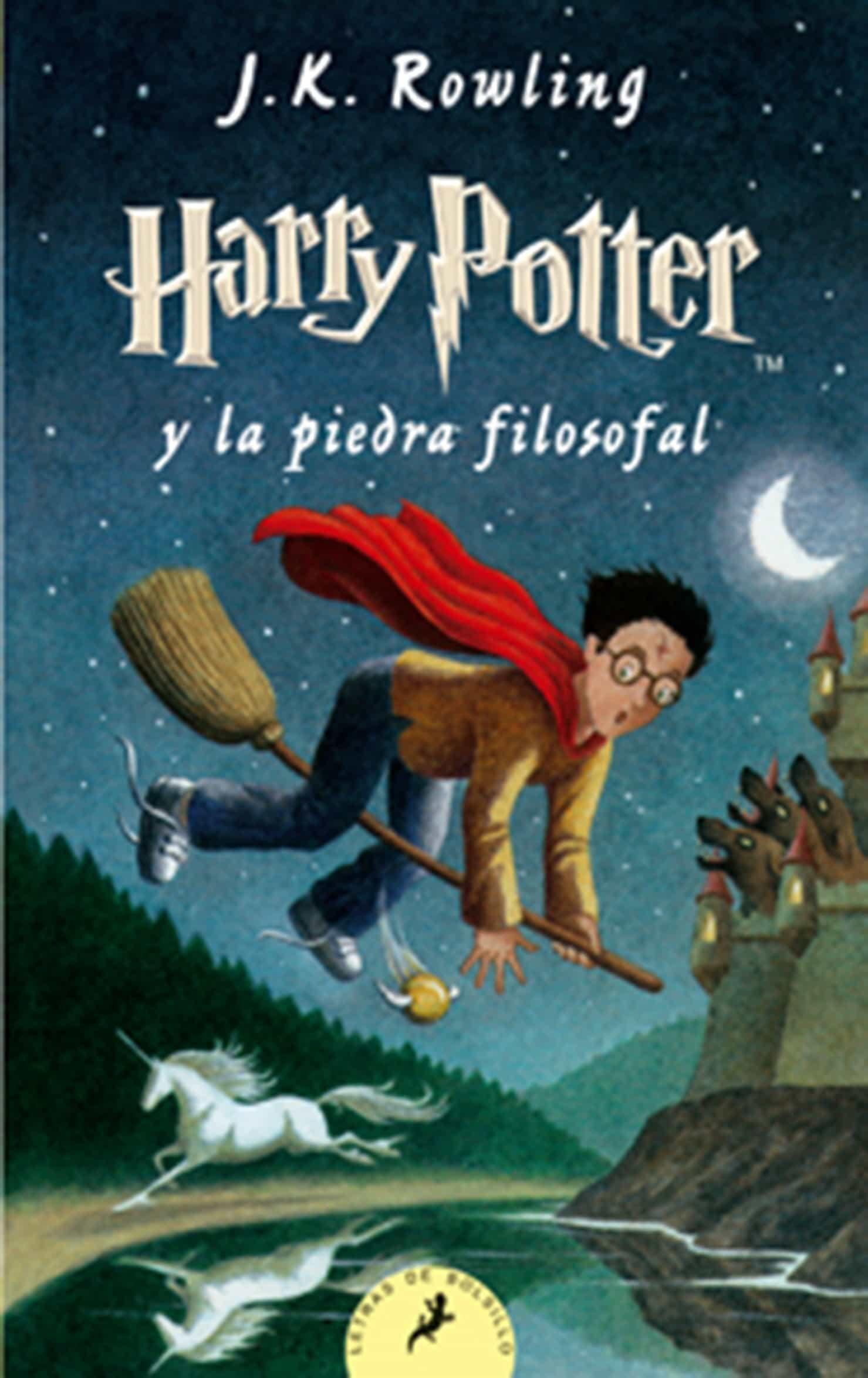 Libros de Harry Potter. 20 libros que leer con tus hijos