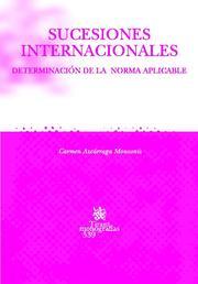 Sucesiones Internacionales por Carmen Azcarraga Monzonis epub