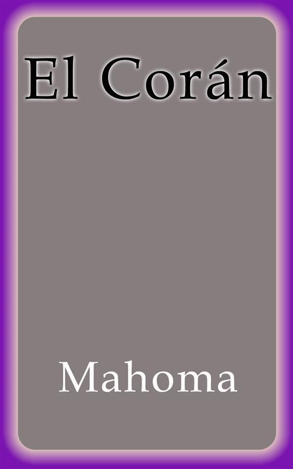 El Corán   por Mahoma epub