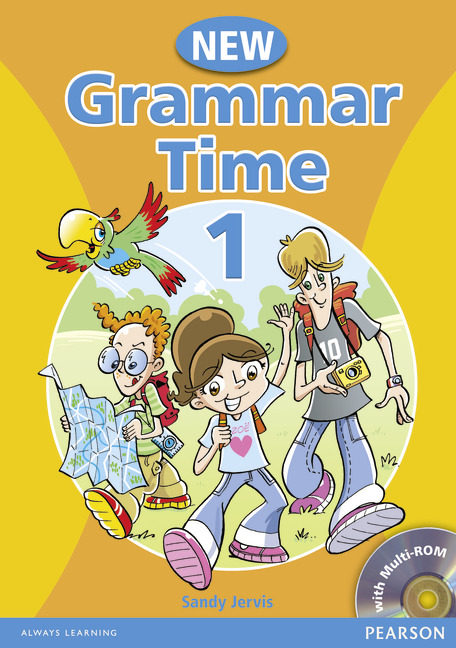 new grammar time: student book level 1-9781405866972