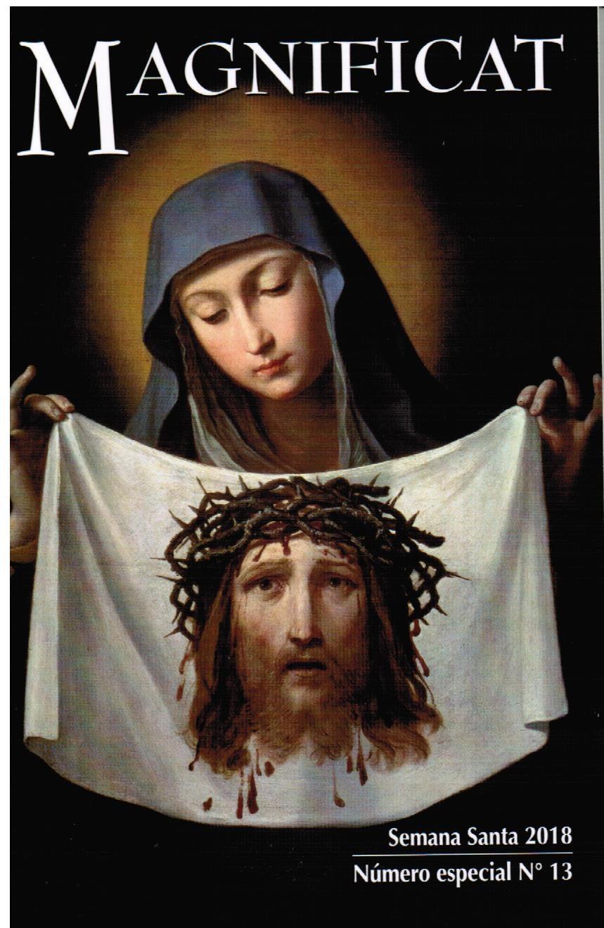 Magnificat Semana Santa 2018 por Vv.aa.