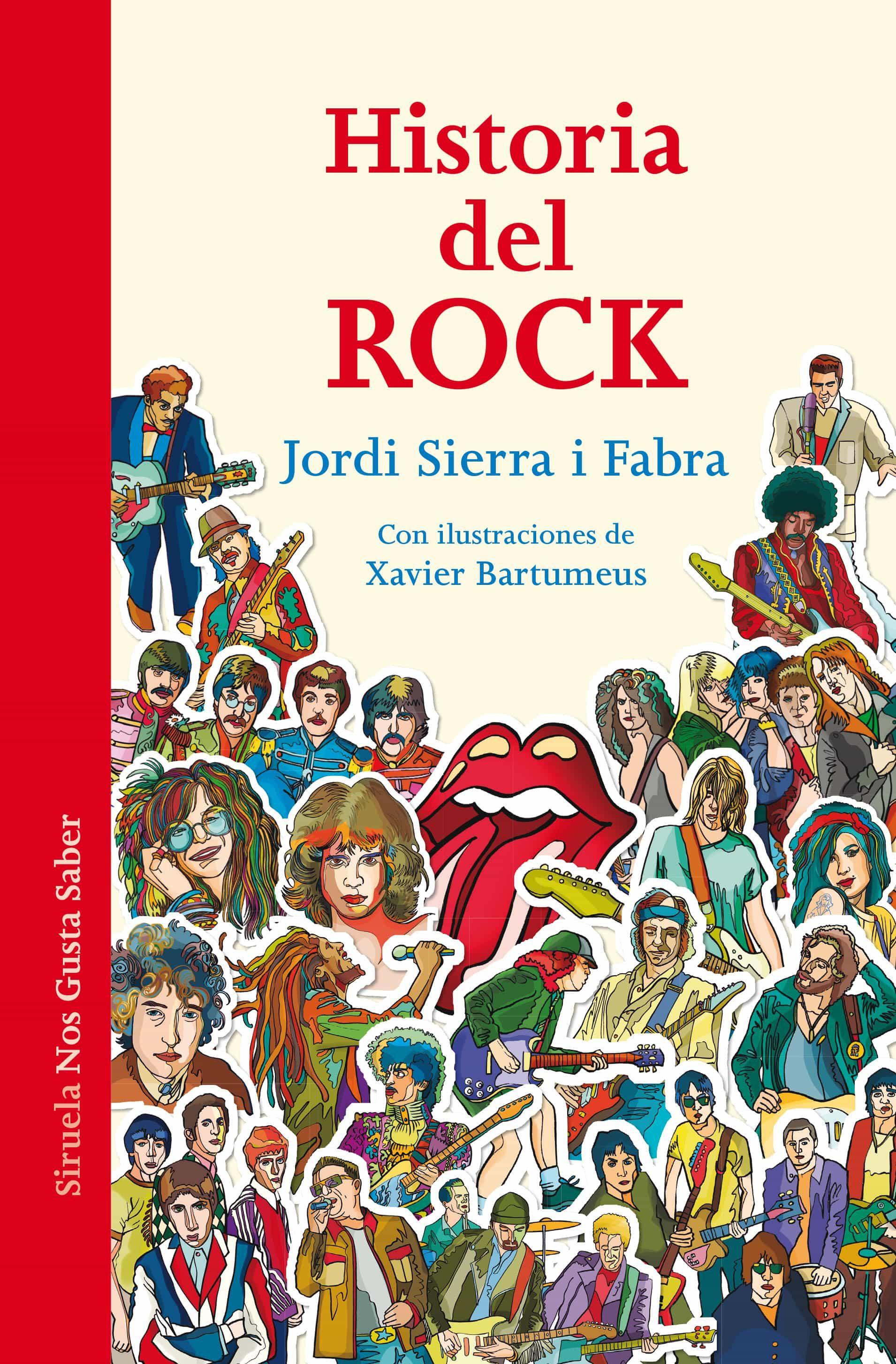 Resultado de imagen para historia del rock jordi sierra i fabra