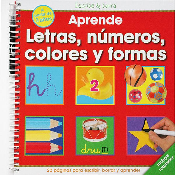 APRENDE LETRAS, NUMEROS, COLORES Y FORMAS | VV.AA. | Comprar libro ...