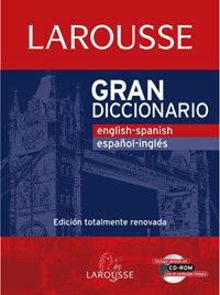 Gran Diccionario:english-spanish Español-ingles por Vv.aa.