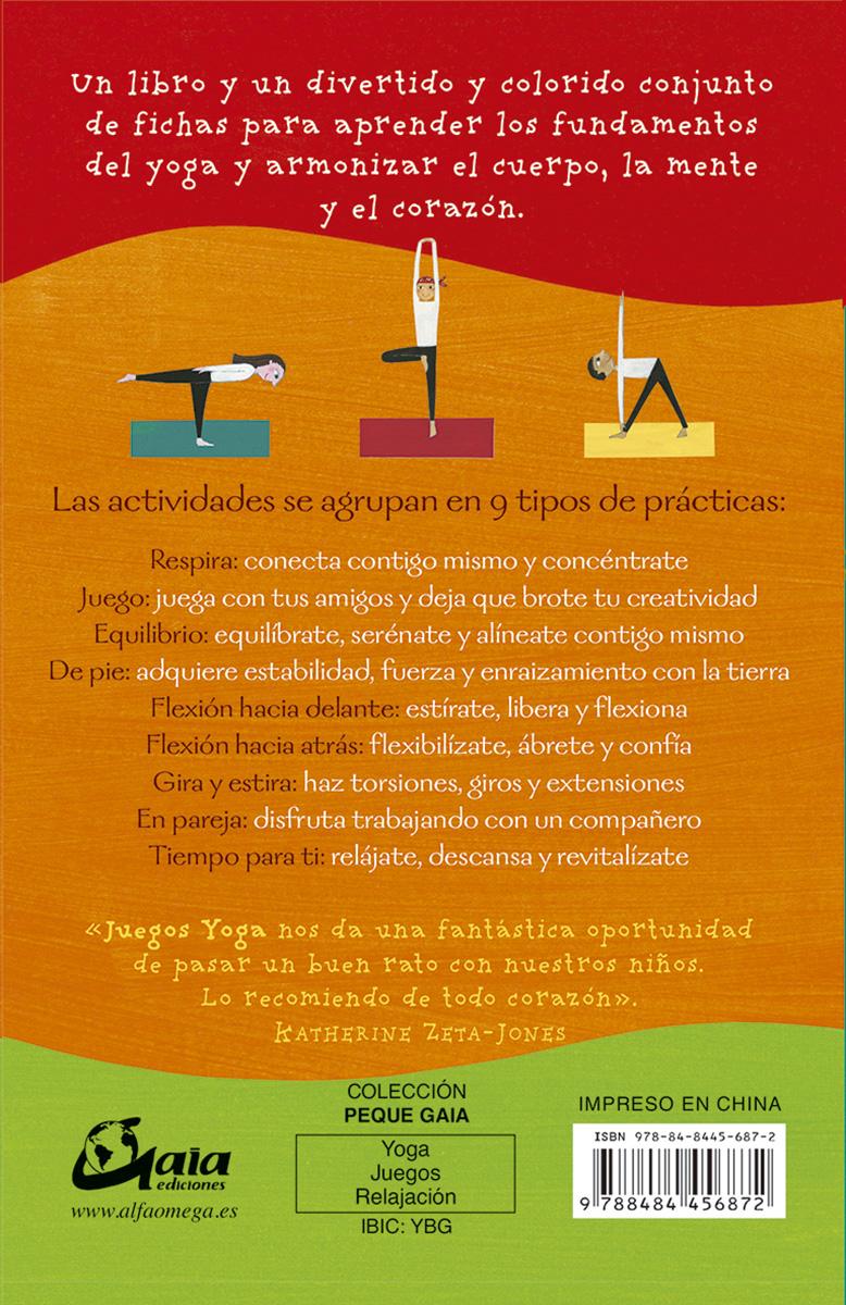 juegos yoga: 50 divertidas actividades de yoga para niños y adultos-tara guber-leah kalish-9788484456872