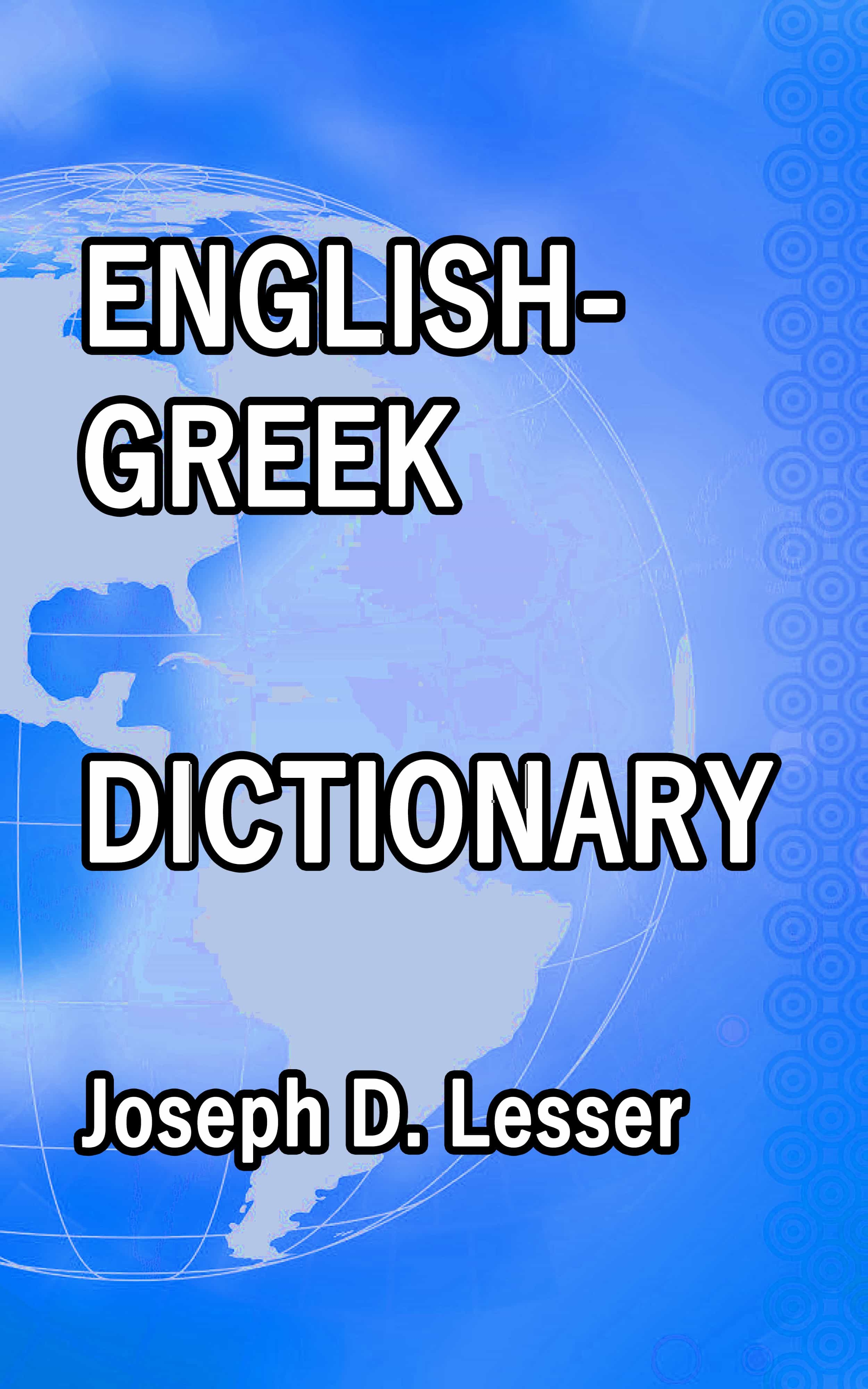 Greek Dictionary Pdf