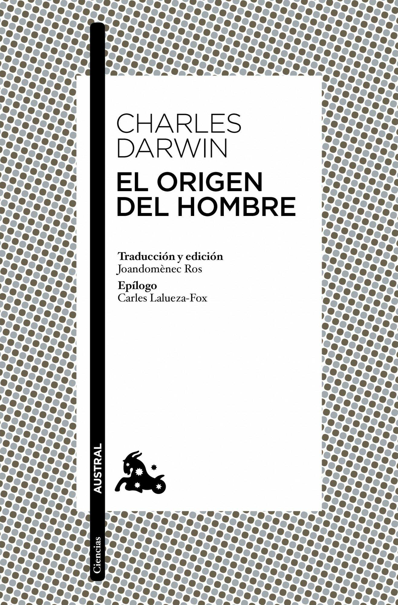 el origen del hombre-charles darwin-9788408004882