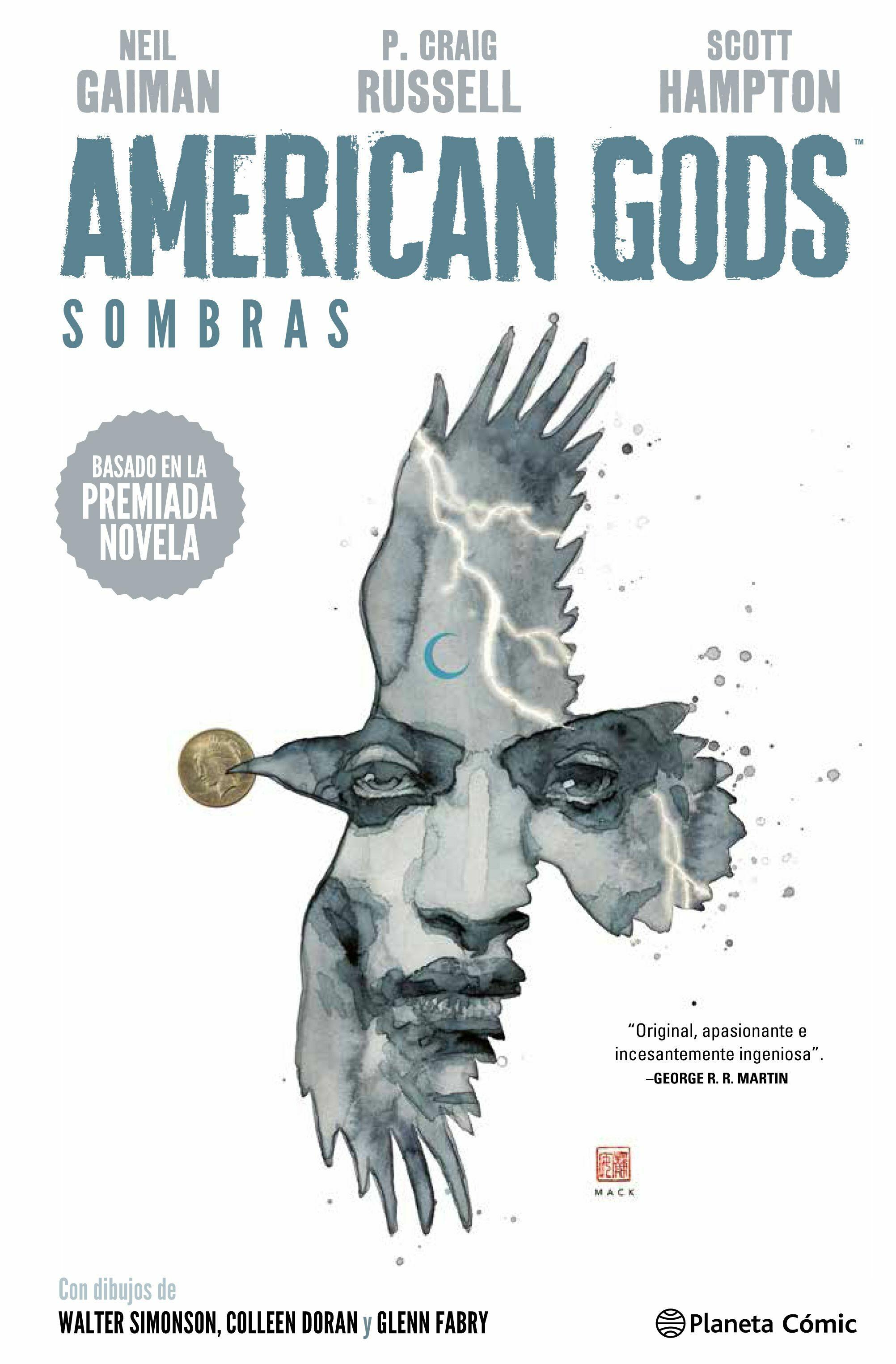 american gods integral 1-simonson, doran, fabry gaiman-9788416090082