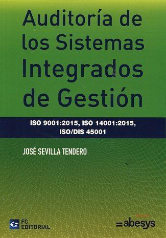 auditoría de los sistemas integrados de gestión-jose sevilla tendero-9788416671182