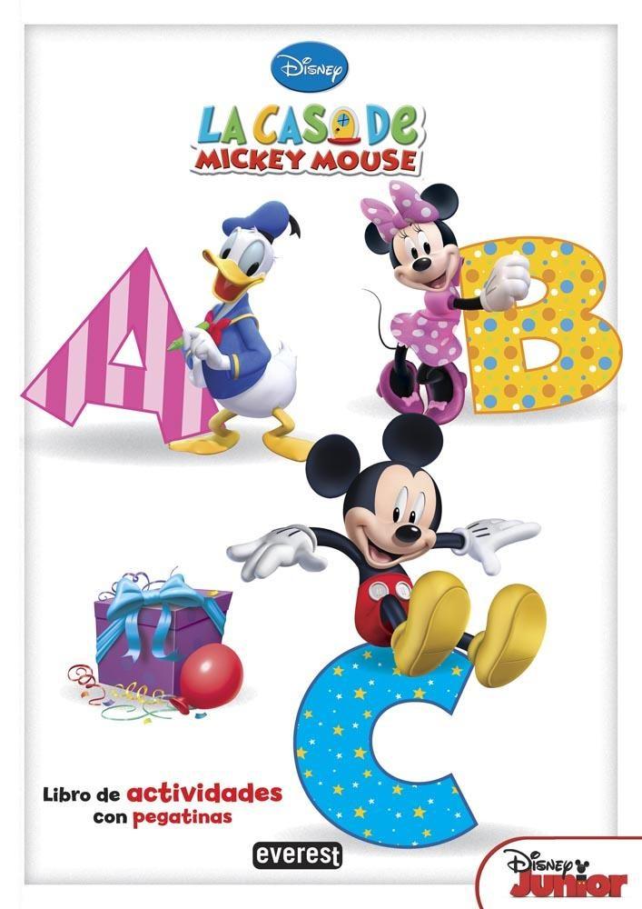 LA CASA DE MICKEY MOUSE. ABC: LIBRO DE ACTIVIDADES CON PEGATINAS ...