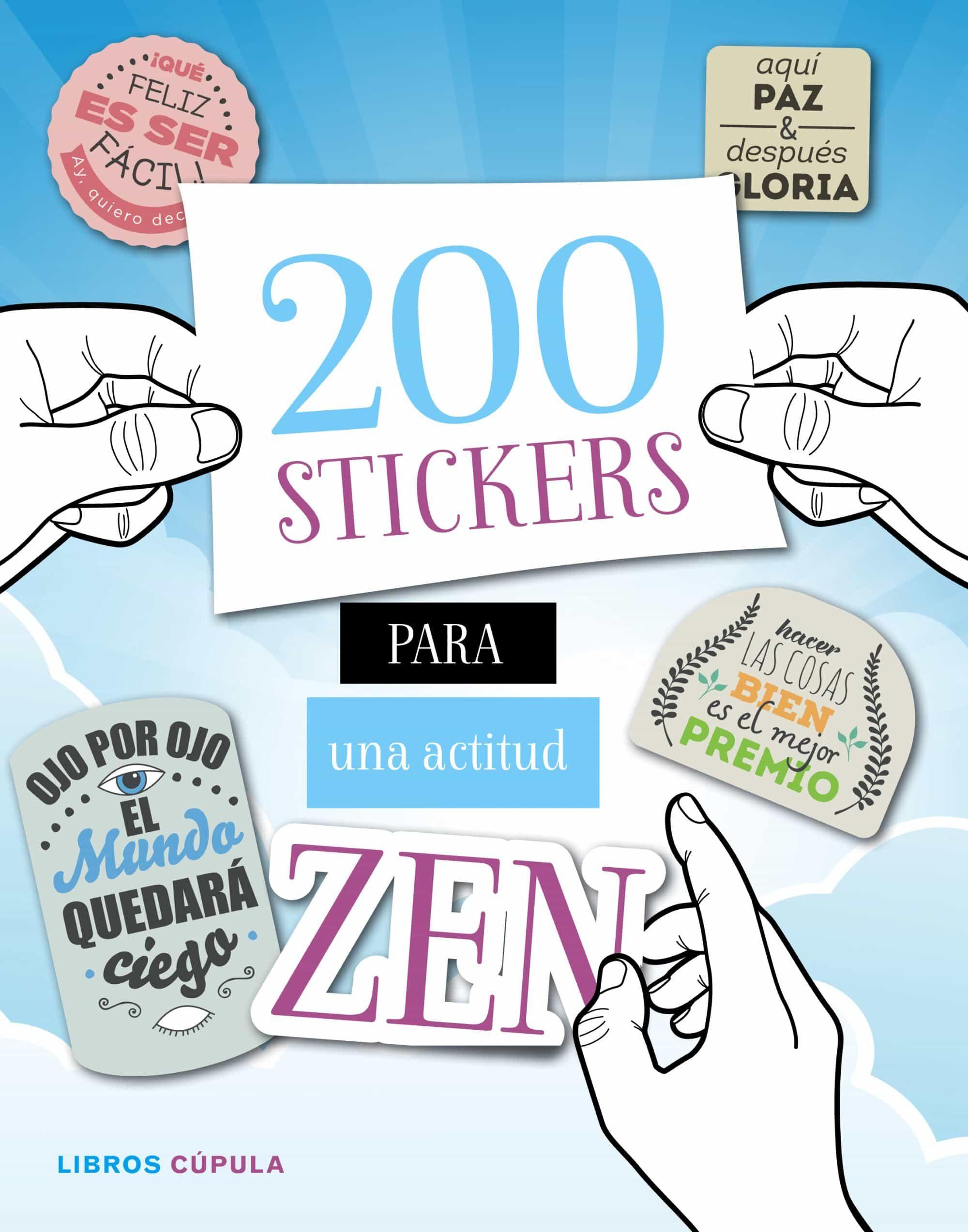 200 stickers para una actitud zen-9788448022082