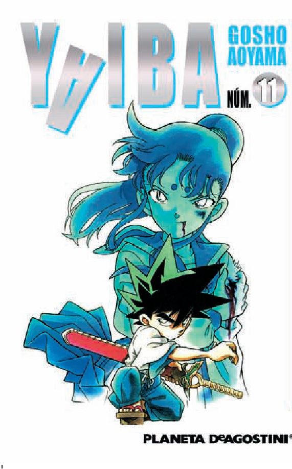 Yaiba Nº 11 por Gosho Aoyama