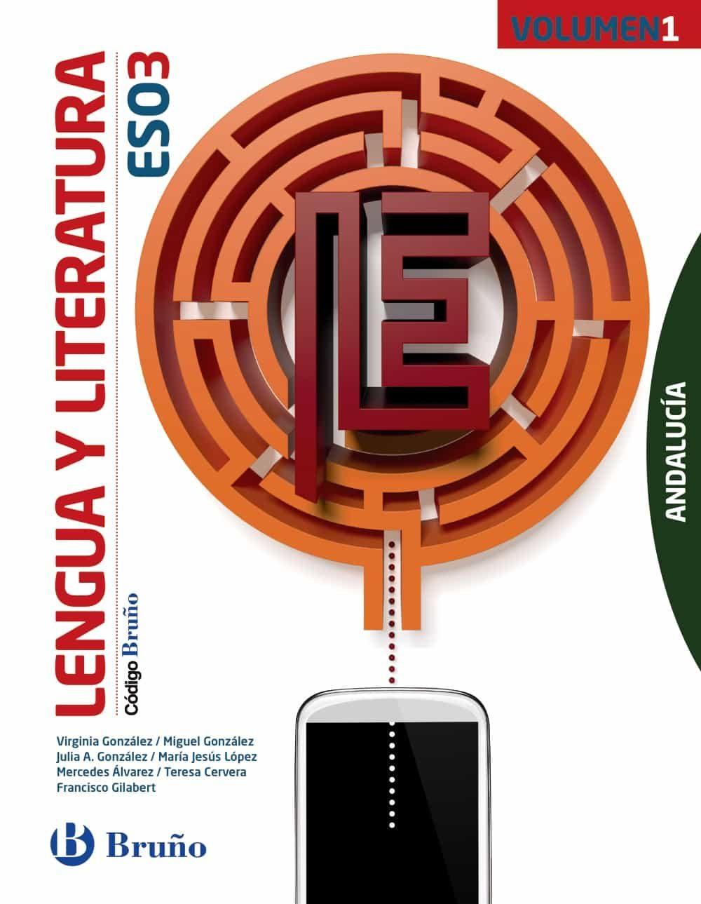 descargar CÓDIGO BRUÑO LENGUA Y LITERATURA 3º ESO ANDALUCÍA - 3 VOLÚMENES pdf, ebook