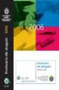 Prontuario Del Abogado 2006 por Silvia Hinojal Lopez epub