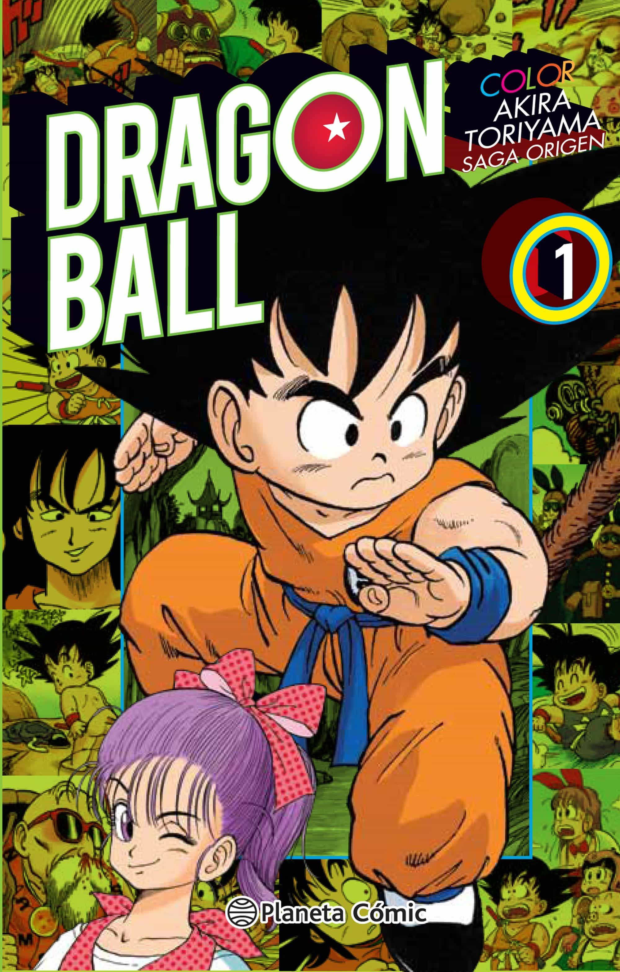 DRAGON BALL COLOR ORIGEN Y RED RIBBON 1