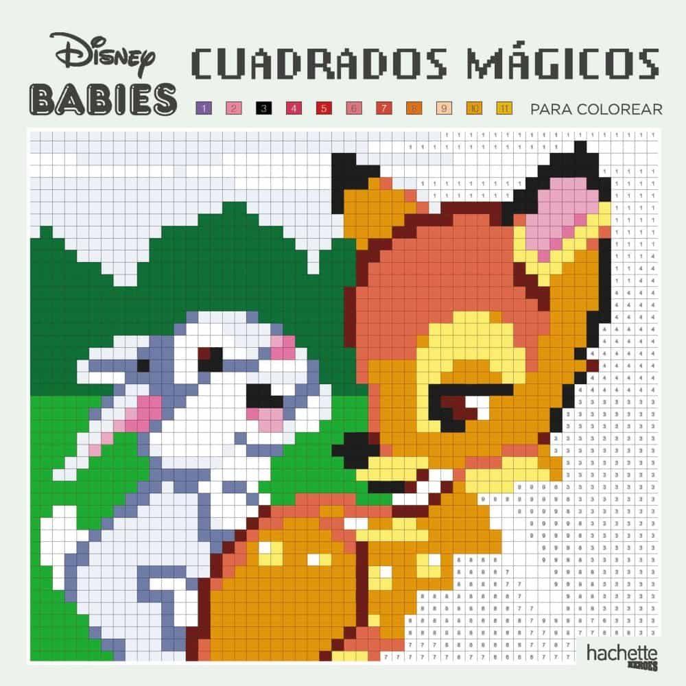 Cuadrados Mágicos Para Colorear Disney Babies Vvaa Comprar
