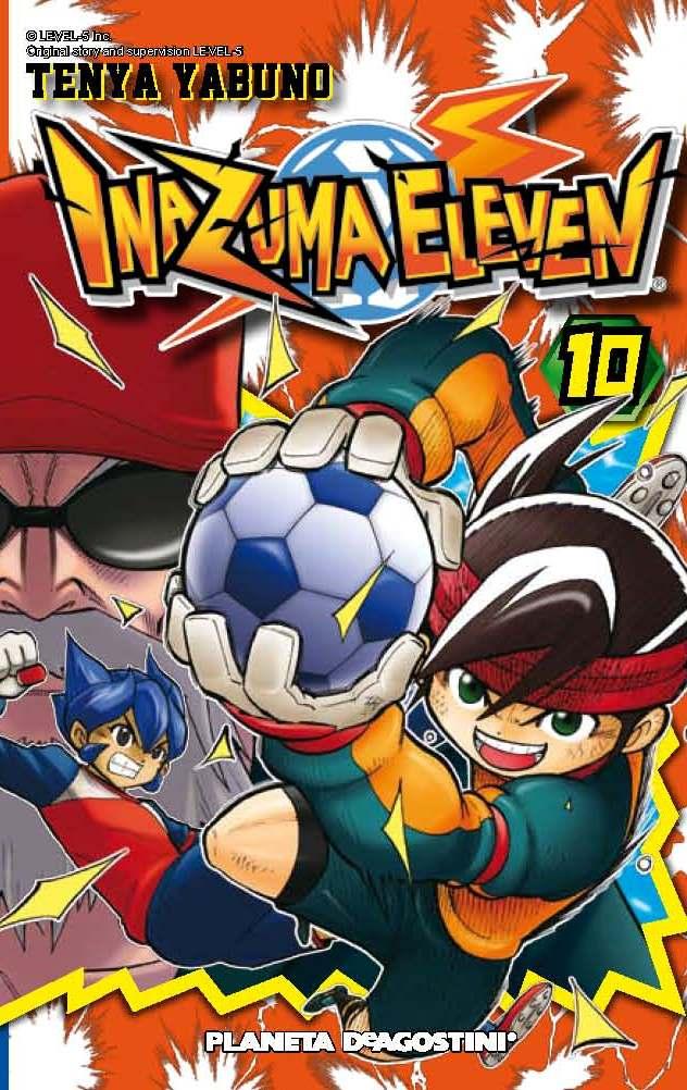 Inazuma Eleven Nº 10 por Tenya Yabuno