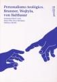 Personalismo Teologico. Brunner, Wojtyla, Von Balthasar por Emmanuel Buch Cami epub
