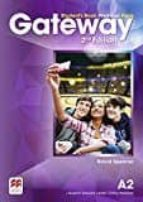 gateway (2nd edition) a2 student s book premium pack 9780230473102