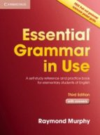essential grammar in use with answers (3rd ed.) raymond murphy 9780521675802