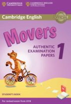 cambridge english young learners english tests (2018 exam) movers 1 student s book 9781316635902