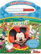 escribe y borra con mickey mouse (incluye marcador borrable) 9781450883702
