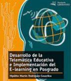 desarrollo de la telematica educativa e implementacion del e-learning en posgrado (ebook)-9786124657702