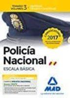 POLICÍA NACIONAL ESCALA BÁSICA. TEMARIO VOLUMEN 3