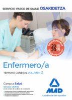 enfermera/o de osakidetza servicio vasco de salud: temario general volumen 2 9788414216002