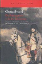 de buonaparte y de los borbones françois rene de chateaubriand 9788415277002