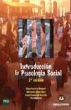 introduccion a la psicologia social (teoria y cuaderno de investi gacion) elena gaviria stewart 9788415550402