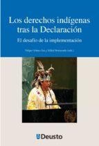 los derechos indígenas tras la declaración (ebook) felipe gomez isa mikel berraondo 9788415772002