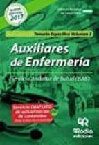 auxiliares de enfermería del sas. temario especifico. vol 2.-9788416963102