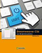 aprender dreamweaver cs6 con 100 ejercicios practicos-9788426718402