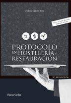 protocolo en hosteleria y restauracion luisa cristina cabero soto 9788428399302