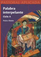 Palabra interpelante ciclo a Ebook pdf descargable gratis